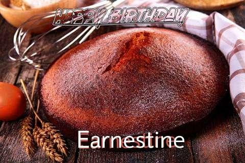Happy Birthday Earnestine Cake Image