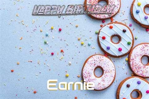 Happy Birthday Earnie Cake Image