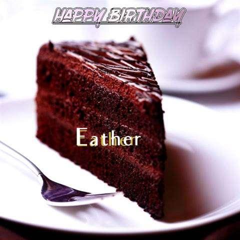 Happy Birthday Eather
