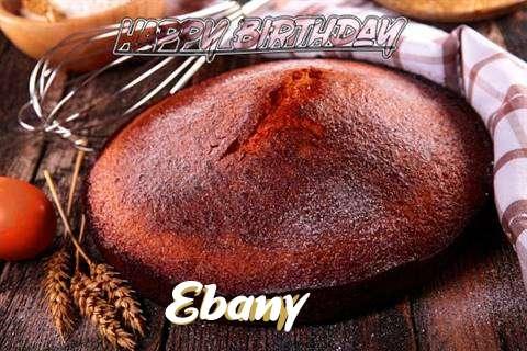 Happy Birthday Ebany Cake Image