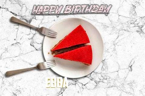Happy Birthday Ebba
