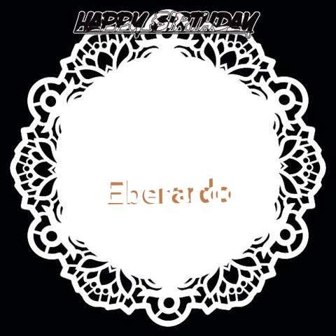 Happy Birthday Eberardo Cake Image