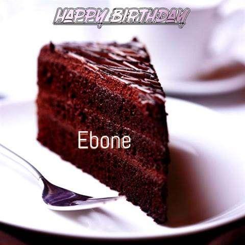 Happy Birthday Ebone