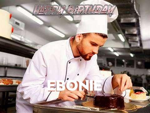 Happy Birthday to You Ebonie
