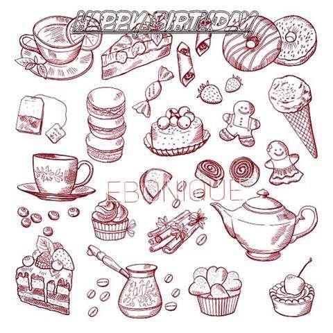 Happy Birthday Wishes for Ebonique