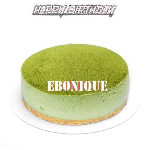 Happy Birthday Cake for Ebonique