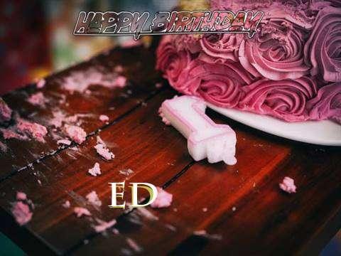 Ed Birthday Celebration
