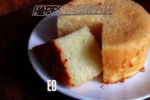 Happy Birthday to You Ed