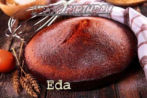 Happy Birthday Eda Cake Image