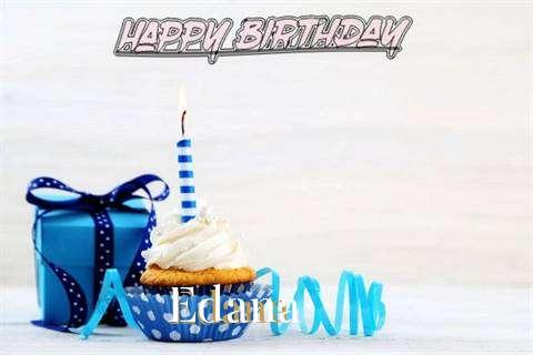 Birthday Wishes with Images of Edana