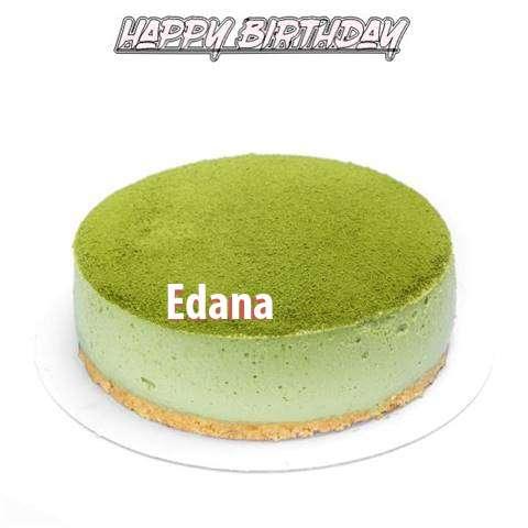 Happy Birthday Cake for Edana