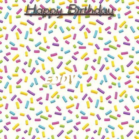 Happy Birthday Wishes for Eddy