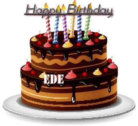 Happy Birthday to You Ede