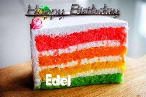 Happy Birthday Edel