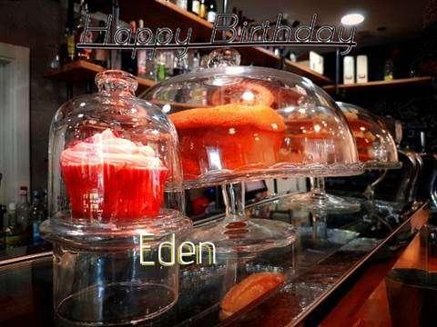 Happy Birthday Wishes for Eden