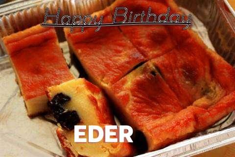 Happy Birthday Cake for Eder