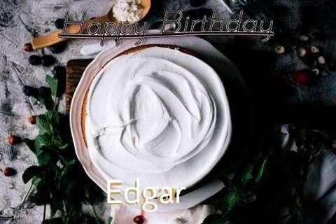 Happy Birthday Edgar Cake Image