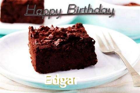 Happy Birthday Cake for Edgar