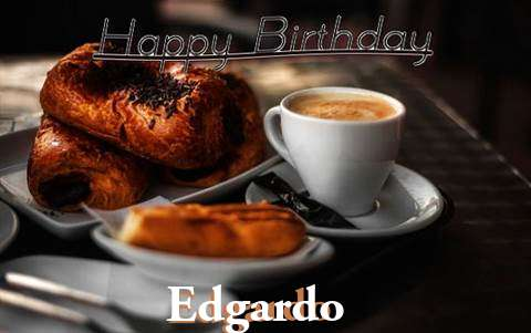 Happy Birthday Edgardo Cake Image