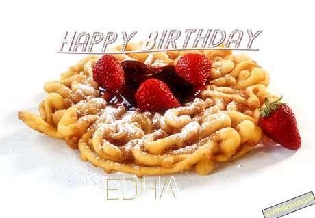 Happy Birthday Wishes for Edha