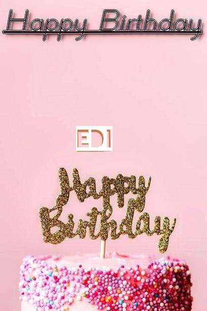 Happy Birthday Edi