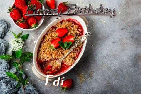 Birthday Images for Edi