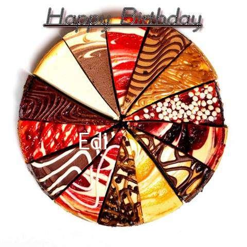 Happy Birthday to You Edi