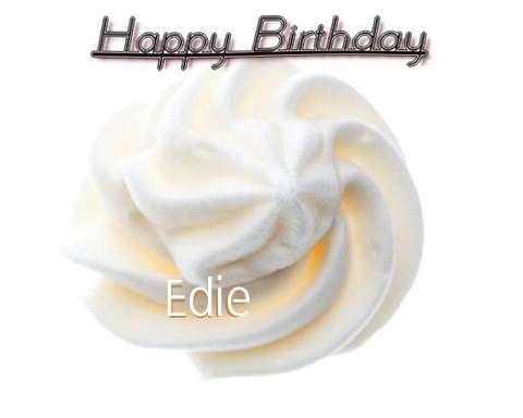 Happy Birthday Cake for Edie