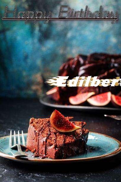 Happy Birthday Edilberto Cake Image