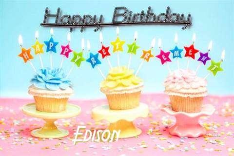 Happy Birthday Edison