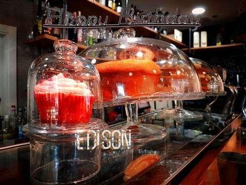 Happy Birthday Wishes for Edison