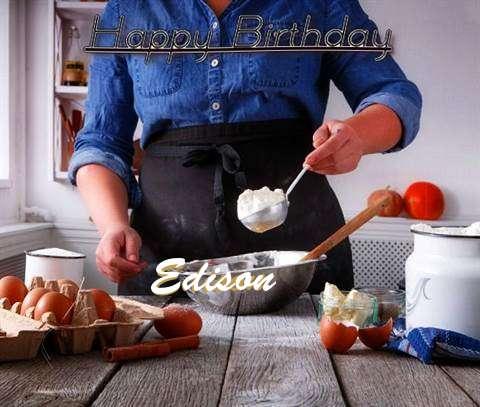 Happy Birthday to You Edison