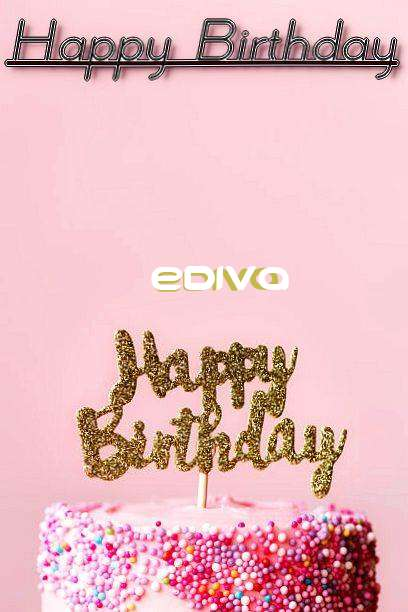 Happy Birthday Ediva