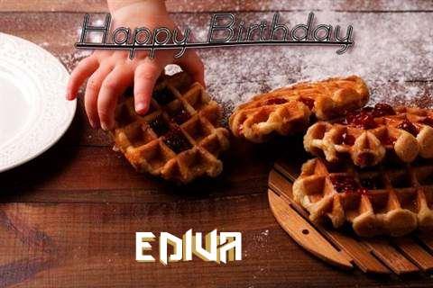 Happy Birthday Wishes for Ediva