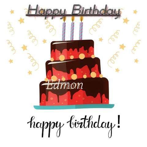 Happy Birthday Cake for Edmon