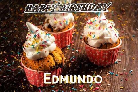 Happy Birthday Edmundo Cake Image