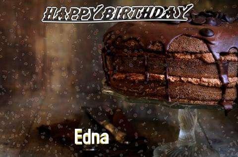 Happy Birthday Cake for Edna