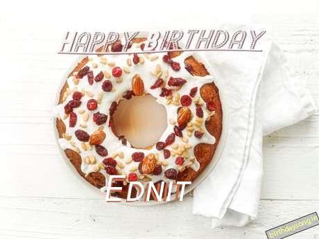 Happy Birthday Wishes for Ednit