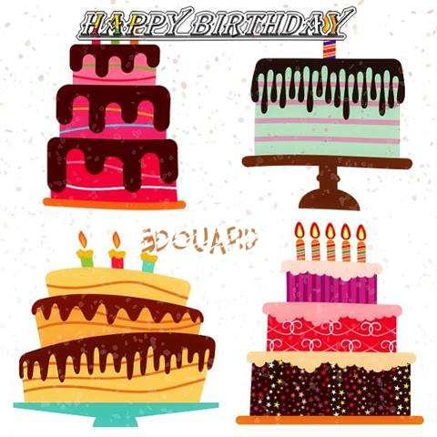 Happy Birthday Edouard Cake Image