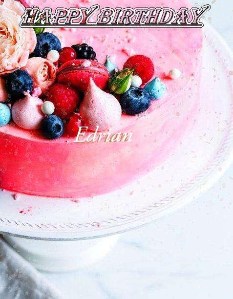 Happy Birthday Edrian
