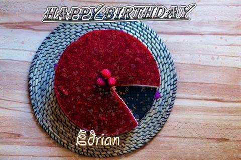 Happy Birthday Wishes for Edrian
