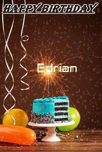 Happy Birthday Cake for Edrian