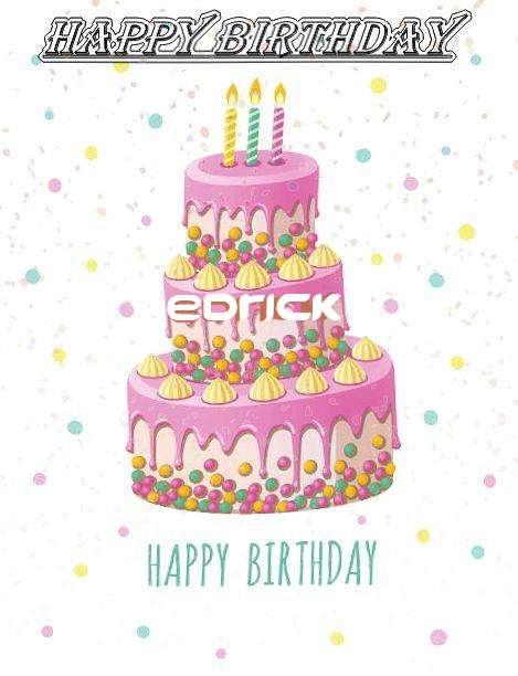 Happy Birthday Wishes for Edrick