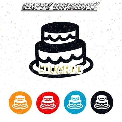 Happy Birthday Edvardo Cake Image
