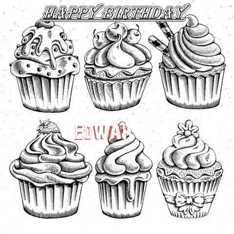 Happy Birthday Cake for Edwar