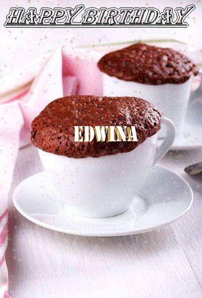 Happy Birthday Wishes for Edwina