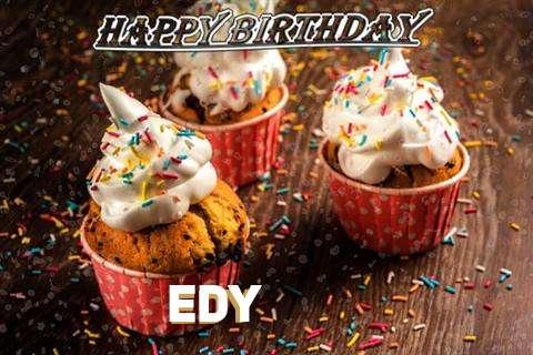Happy Birthday Edy Cake Image