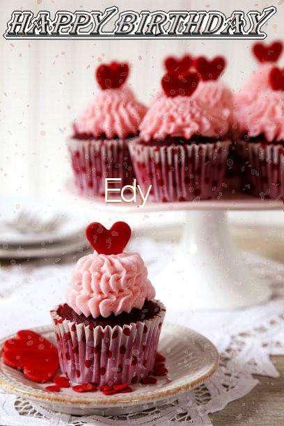 Happy Birthday Wishes for Edy