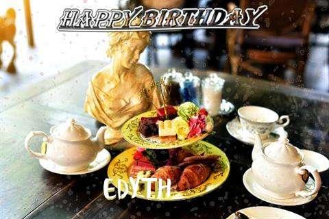 Happy Birthday Edyth Cake Image
