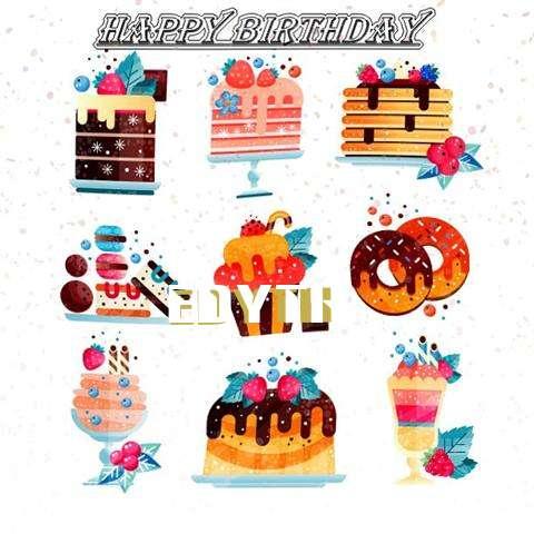 Happy Birthday to You Edyth